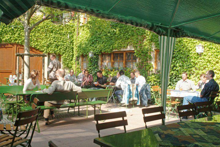 Beispiel: Biergarten, Foto: AKZENT Gasthof Krone.