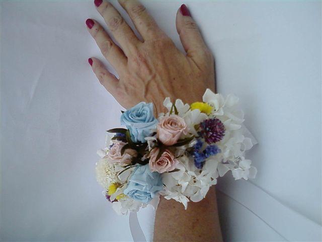 Flor de Cór - corsage de flores naturais preservadas
