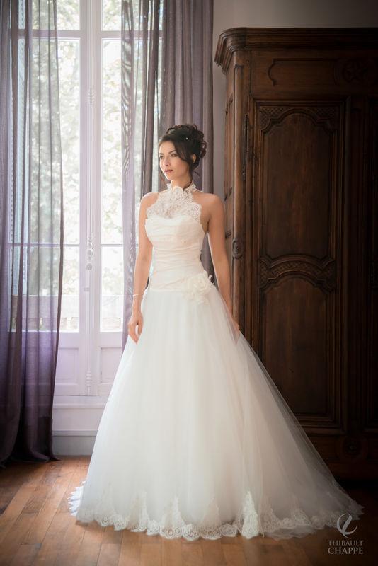 robe BAGATELLE - collection  Mariées de Provence 2017