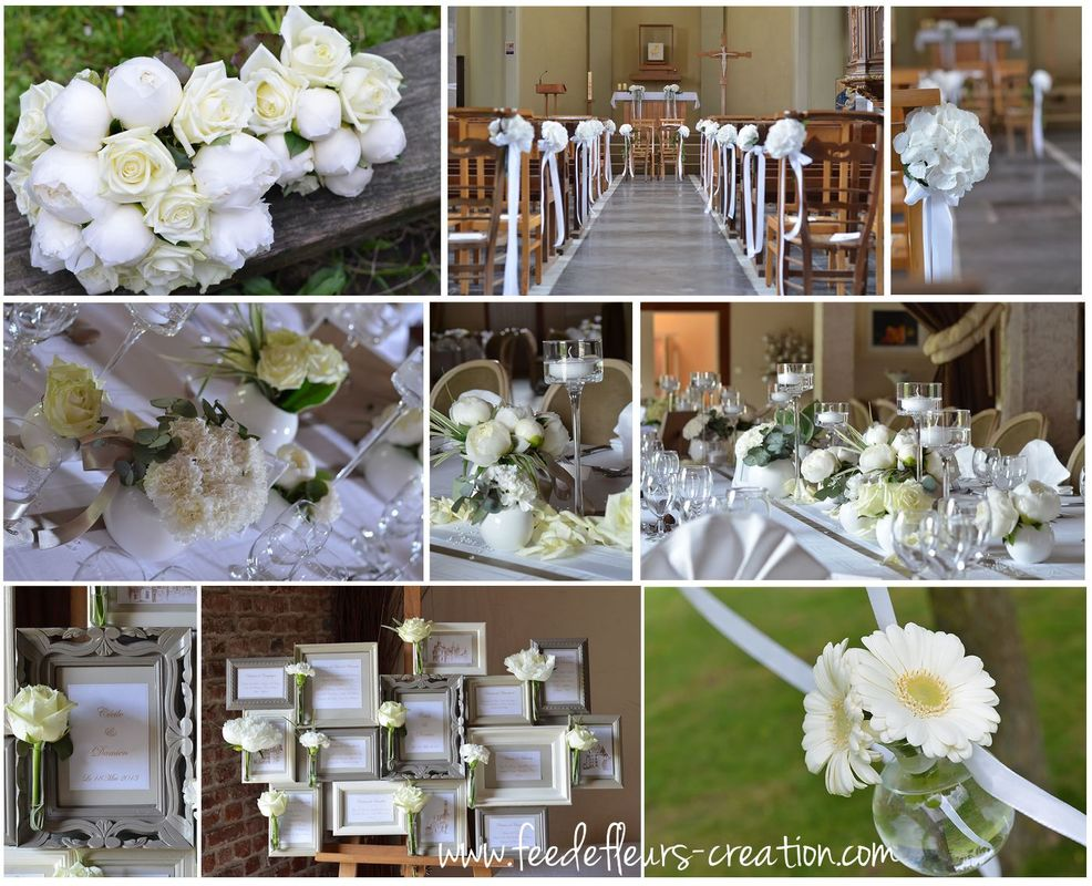 Mariage classique -Chic-blanc
