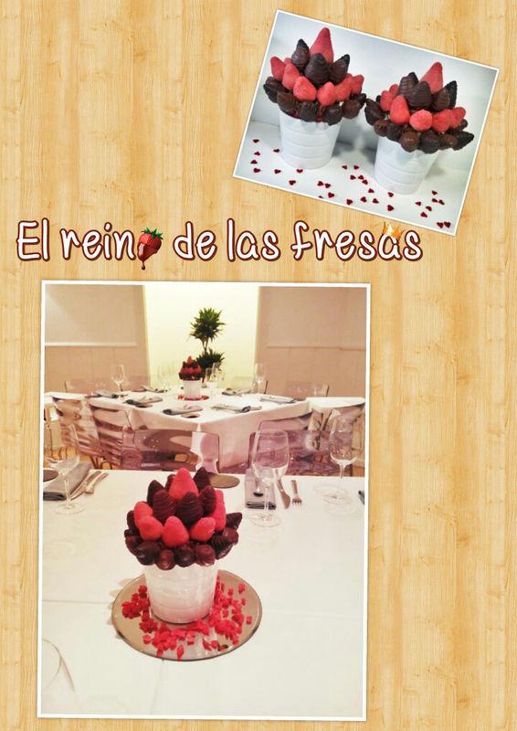 Bouquets de fresas con chocolate