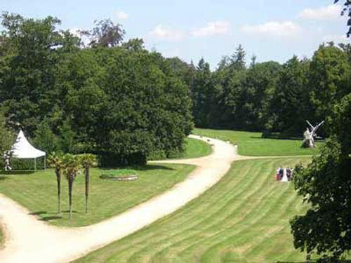 Château de Bonnefontaine - le parc