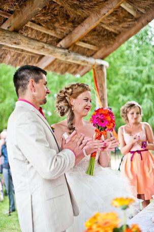 Ślub w Skansenie.