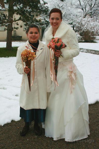Beispiel: Hochzeitsfloristik, Foto: Floradesign.