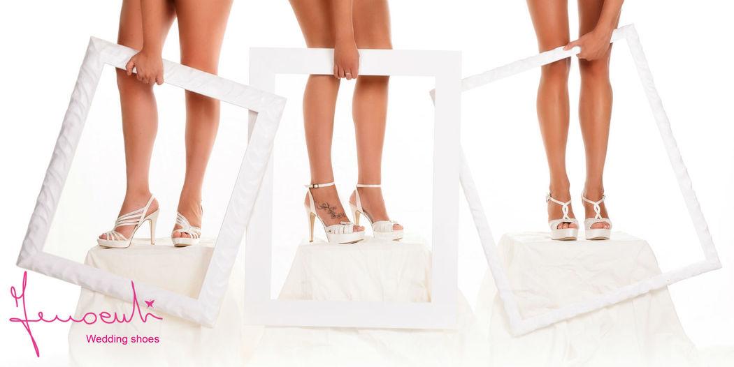 Sandali gioiello con Swarovski - campagna pubblicitaria collezione 2014