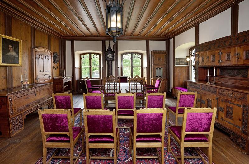 Rittersaal, Trauzimmer Schloss zu Hopferau