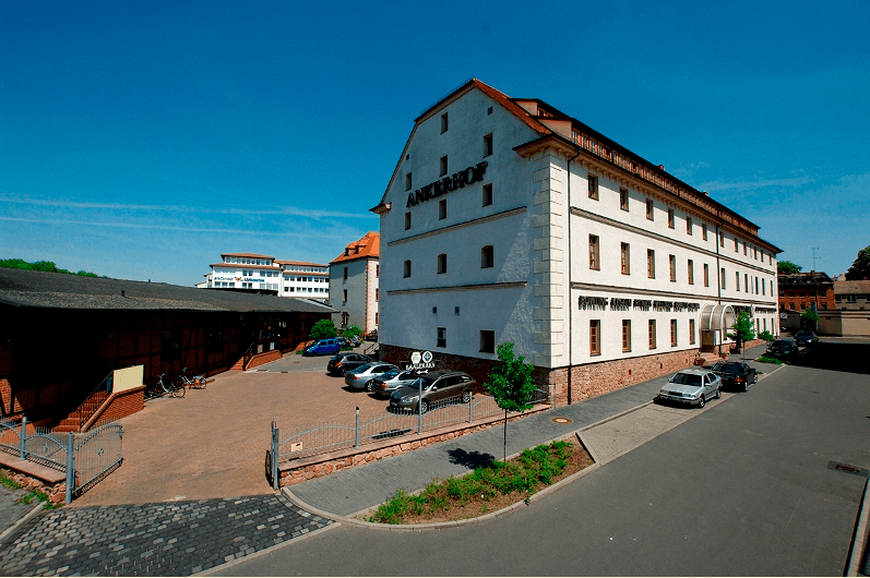 Beispiel: Außenansicht, Foto: Ankerhof Hotel.