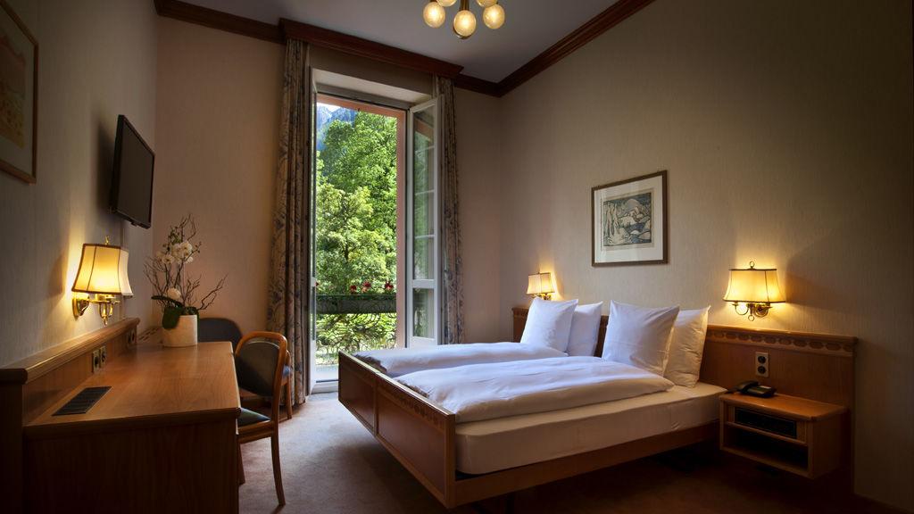 Beispiel: Hotelzimmer, Foto: Hotel Le Prese.