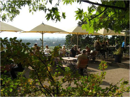 Beispiel: Biergarten, Foto: Lingnerterrassen.