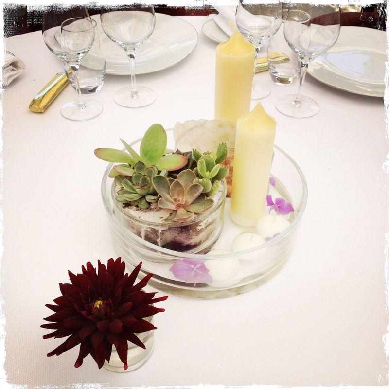 décoration de table -  Création florale Les Fées Nature
