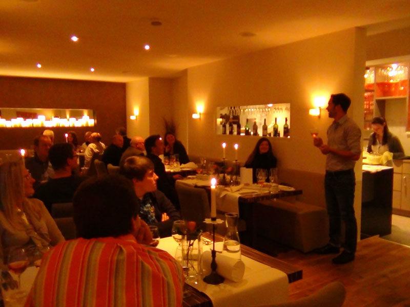 Beispiel: Festtagsgesellschaft, Foto: Restaurant Meersalz.