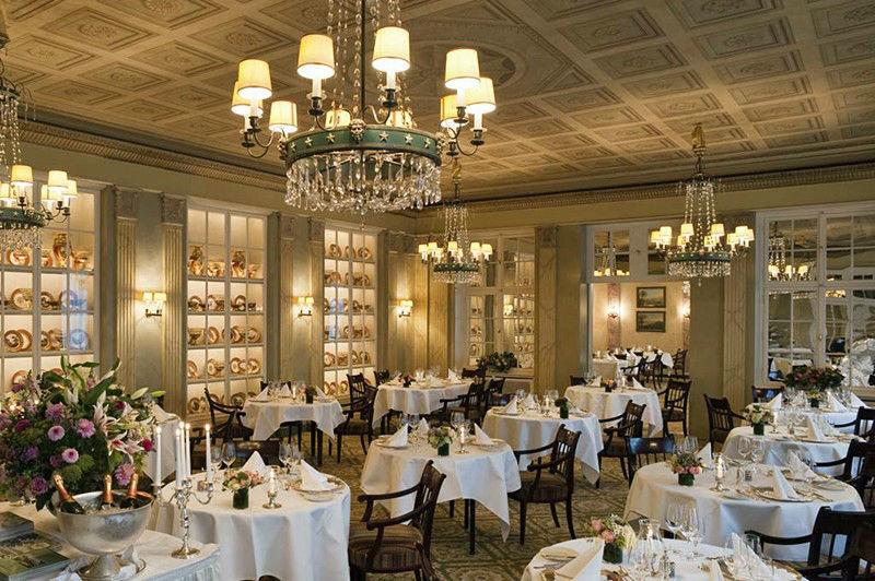 Beispiel: Restaurant, Foto: Grandhotel Hessischer Hof.