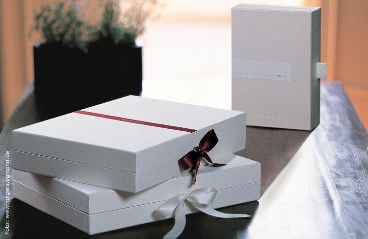 Beispiel: Geschenkkassetten, Foto: BestMoments.