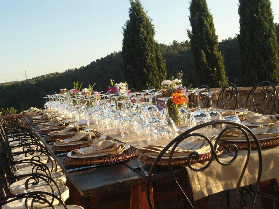 Allestimento Country Matrimonio in Toscana - La Buona Tavola Catering&Banqueting Firenze