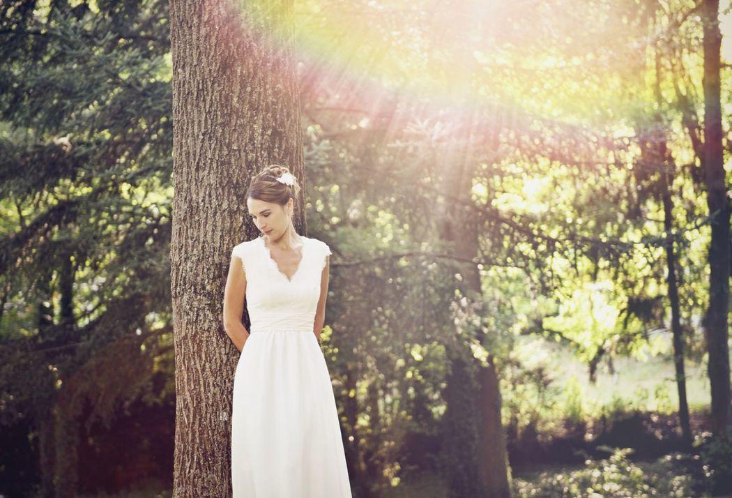 Kaa Couture modèle robe de mariée MANON