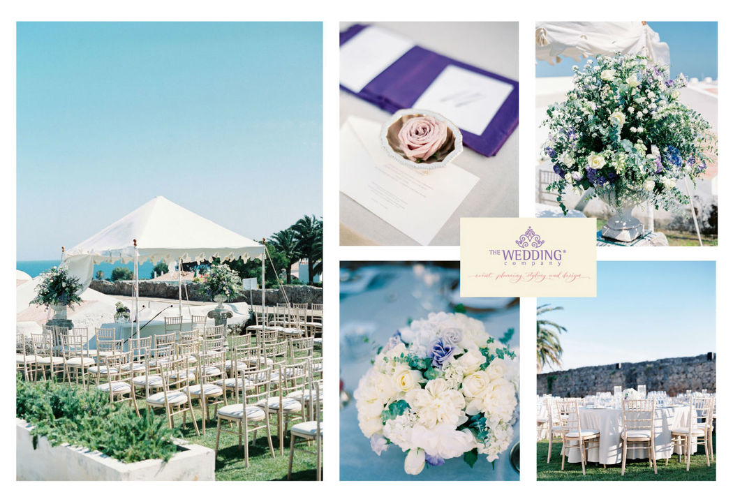 Beautiful Cascais Wedding by the Wedding Company