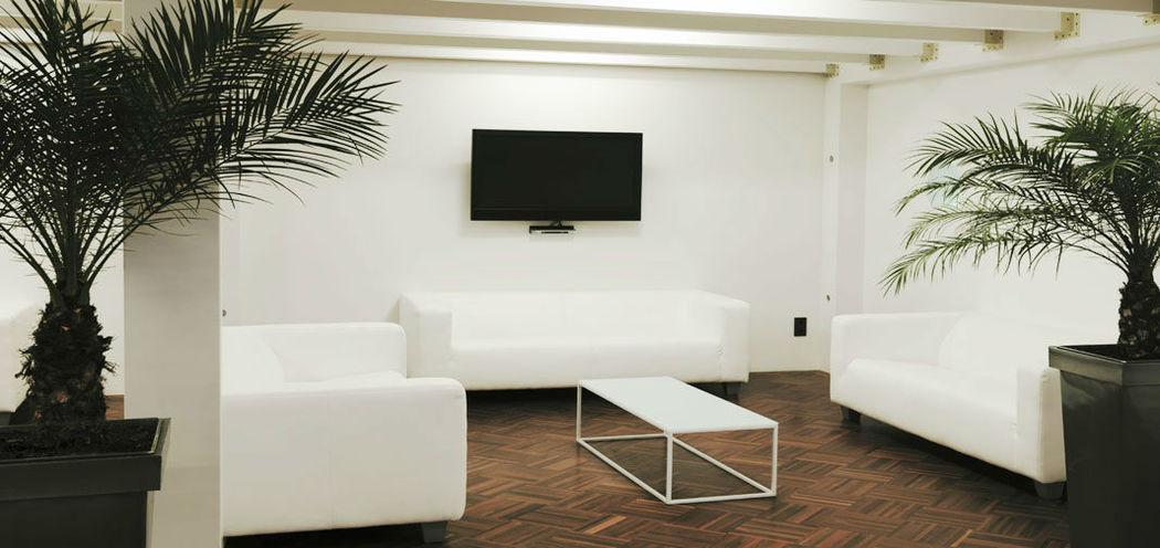 Beispiel: Lounge, Foto: Nordlicht Events.