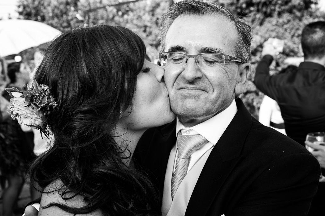 El amor de la familia en las bodas. Siempre estoy atento a estos momentos.