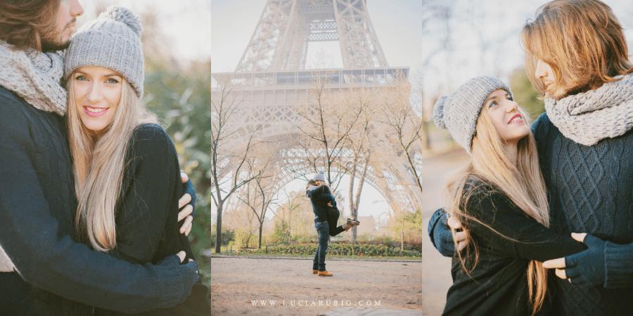 Lucia Rubio Fotografia . Tu preboda o postboda en Paris sin gastos de desplazamiento para el fotógrafo