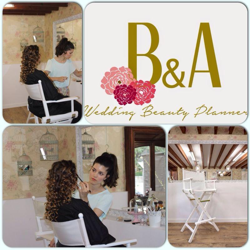 Maquillaje profesional en B&A Hair and Beauty salon
