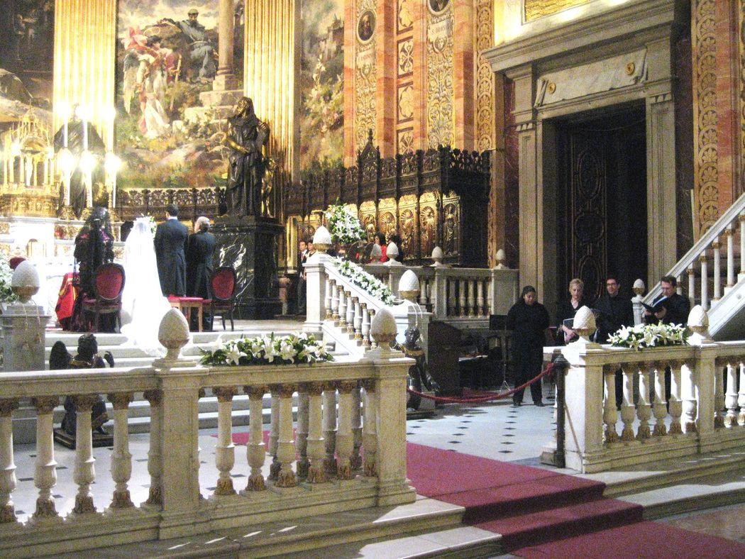 Cuarteto vocal en la Real Basílica de San Francisco el Grande, Madrid