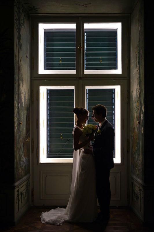 Beispiel: Ein besonderer Moment, Foto: the wedding planner.