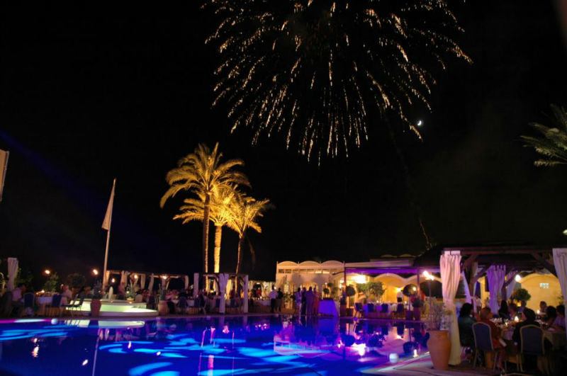 Fuegos artificiales para eventos La Cabane