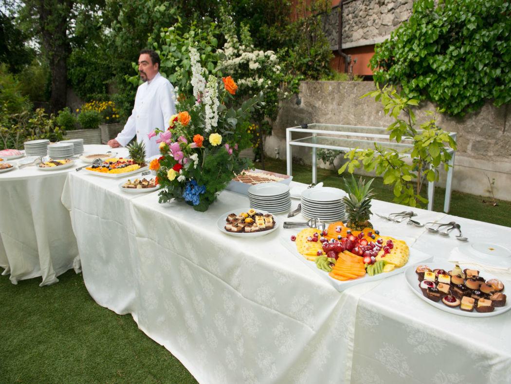 La Locanda del Pontefice giardino Buffet Dolci
