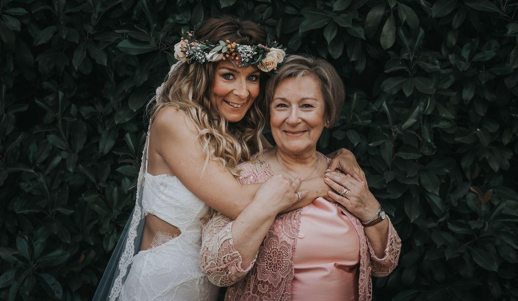 Maquilhagem Noiva e mãe da Noiva