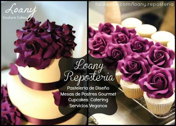 Pastel de Bodas / Mesas de Postres Gourmet Loany Reposteria