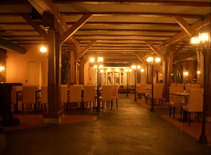 Beispiel: Hauptraum(Nichtraucherbereich), Foto: Palais´S Gastro.