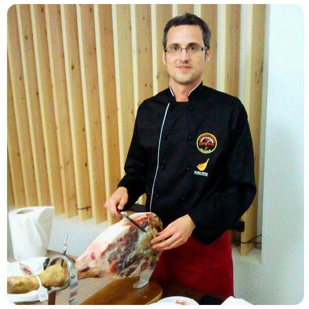 Cortador de jamón Bajo Aragón