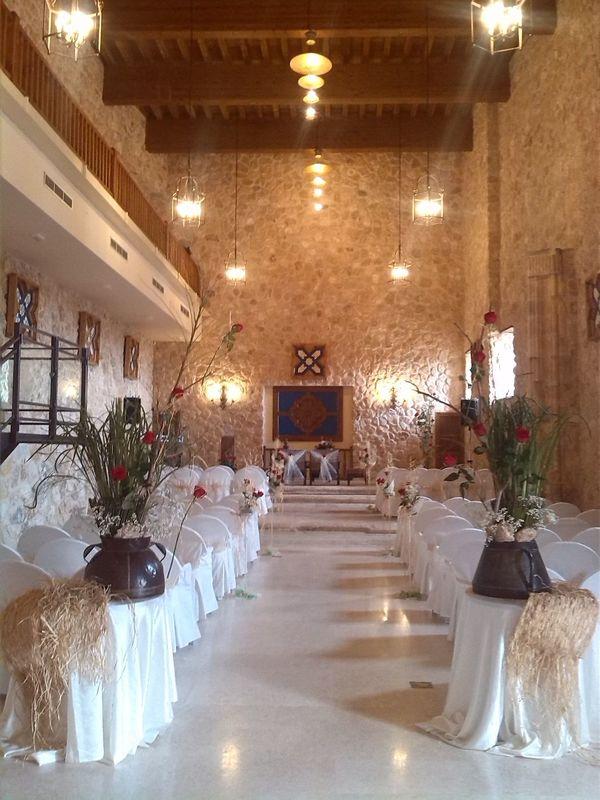 Ceremonia en el Salón Medieval