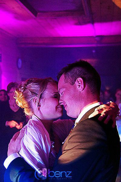 Beispiel: Romantischer Hochzeitswalzer, Foto: DJ Benz.