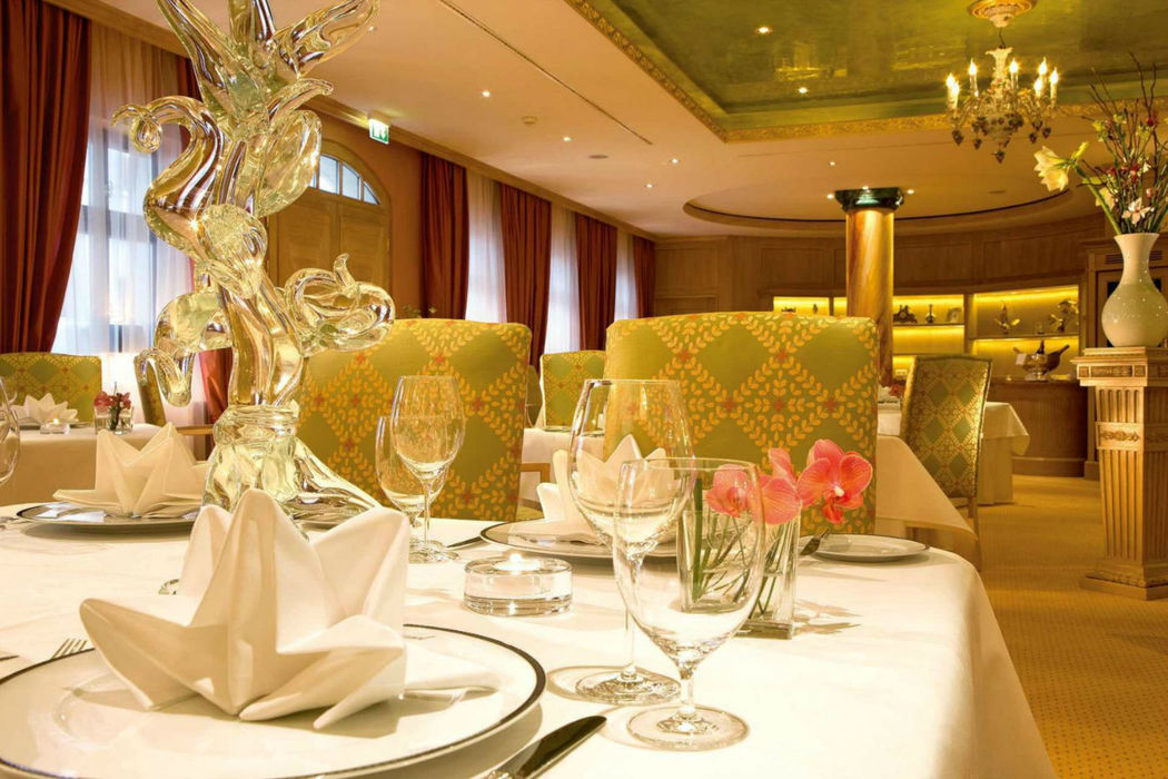 Beispiel: Restaurant Caroussel, Foto: Bülow Palais.