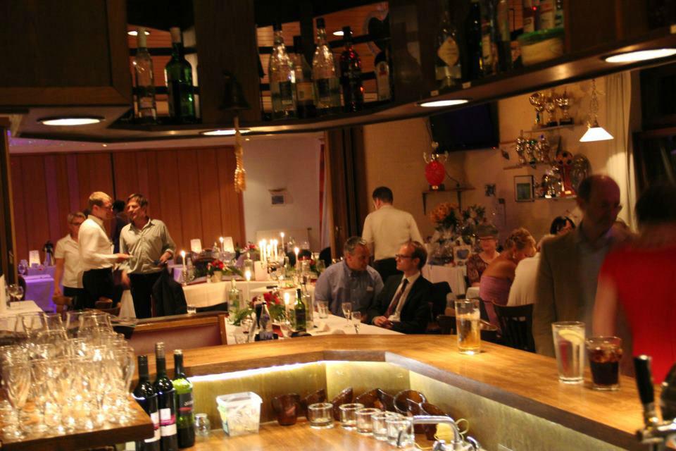 Beispiel: Feiern im Clubhaus, Foto: Clubhaus Bramfelder SV.