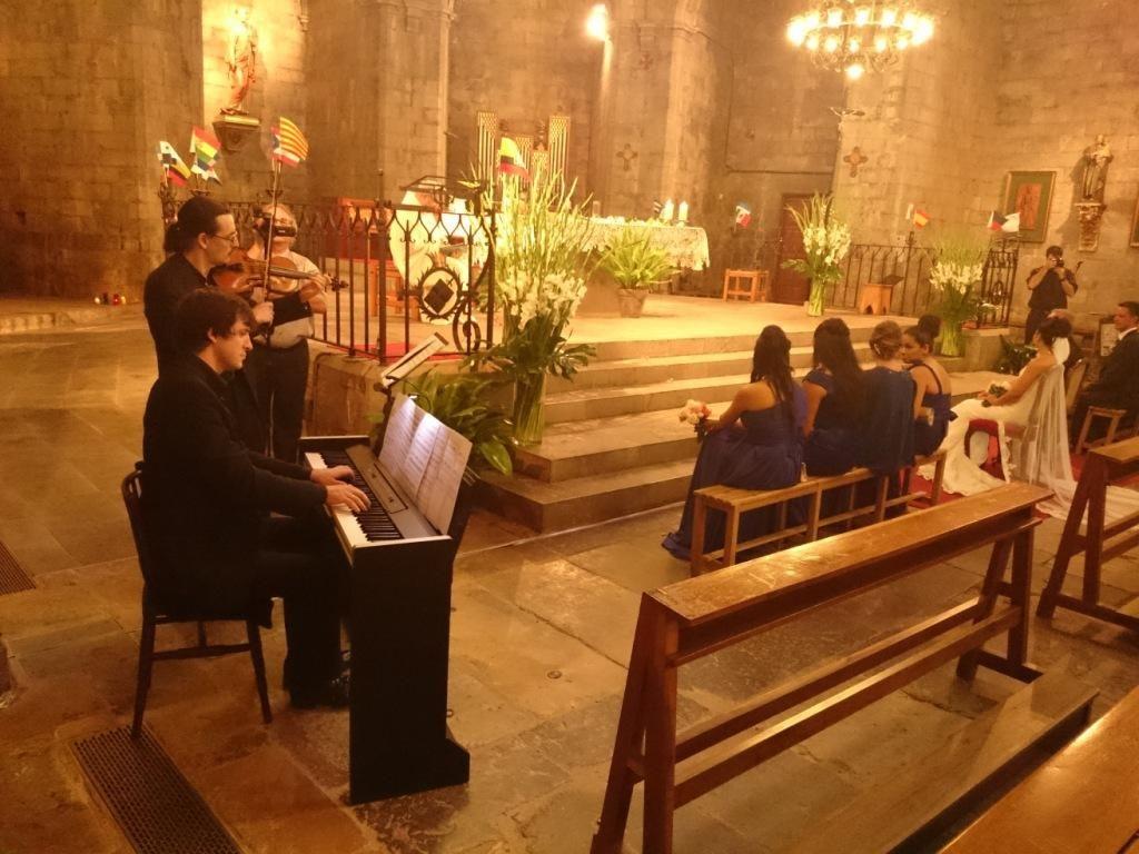 Dúo Violin y piano boda religiosa