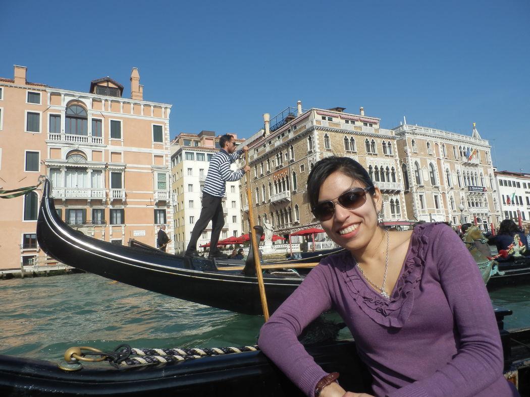 Un paseo por Venecia, Italia.