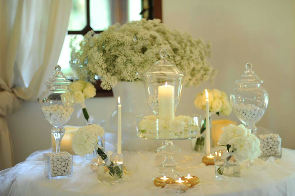 The White Rose Wedding rapresentative table