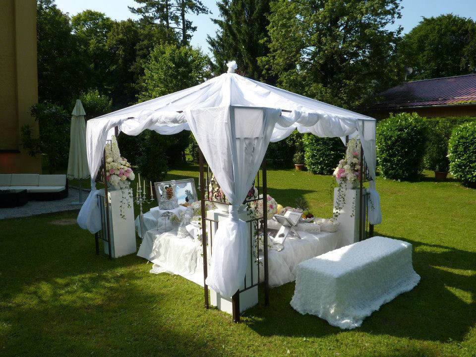 Beispiel: Komplette Ausstattung für Ihre Hochzeitsfeier, Foto: Die Hochzeitsgestalter.