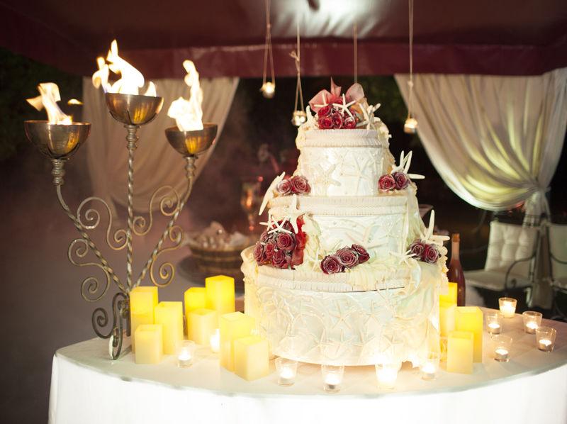 torta nunziale - Villa Rosa