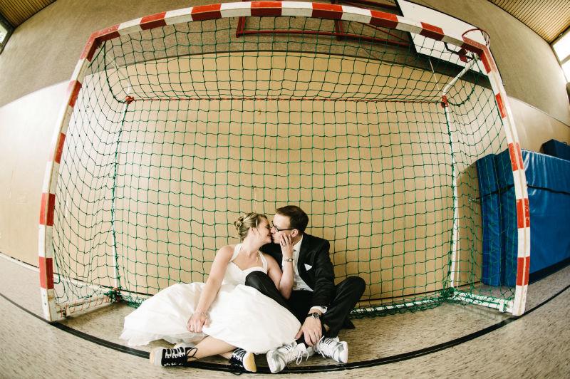 Beispiel: Einzigartige Hochzeitsfotos, Foto: Patrick Ludolph.
