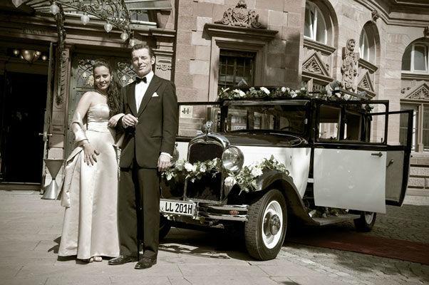 Beispiel: Wunderschöner Oldtimer zur Hochzeit, Foto: Oldie².
