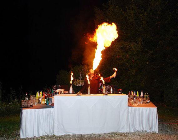 Beispiel: Bar, Foto: Villa Toscana.