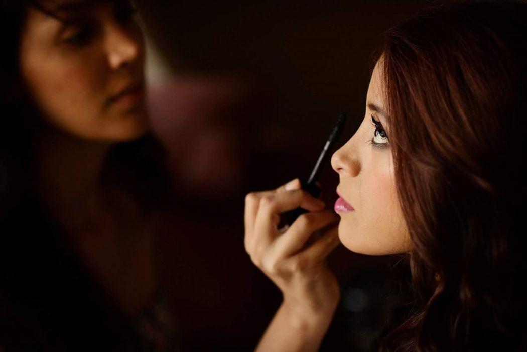 Proceso del maquillaje