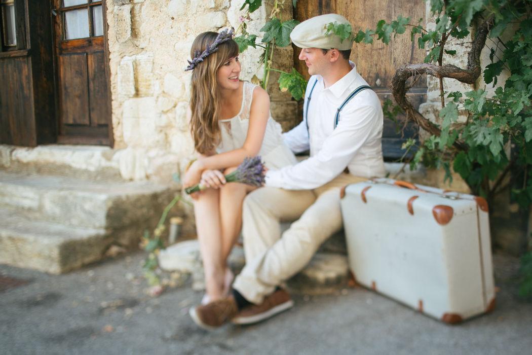 Portraits bei Verlobungsfotoshooting