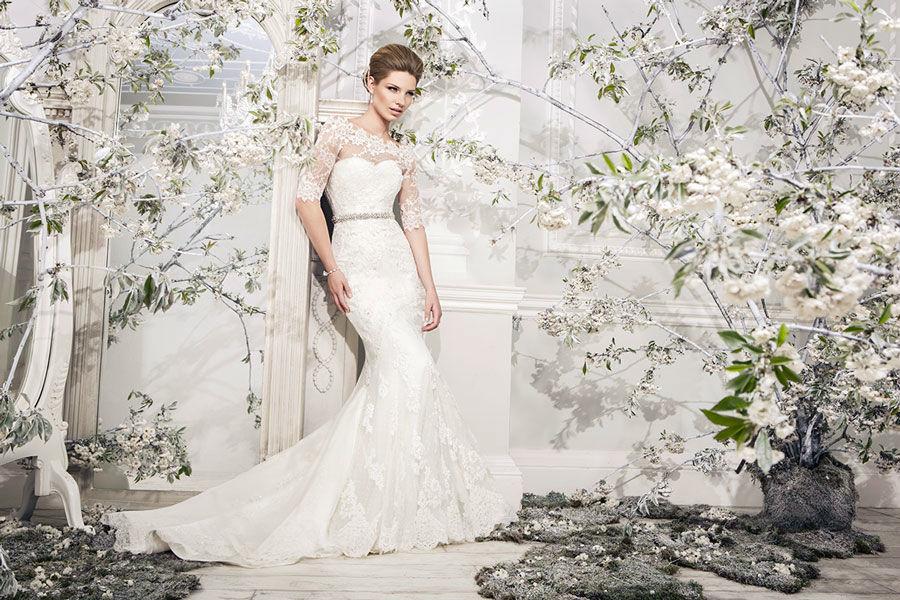 Beispiel: Brautkleider nach Maß, Foto: Mery's Couture Aarau.