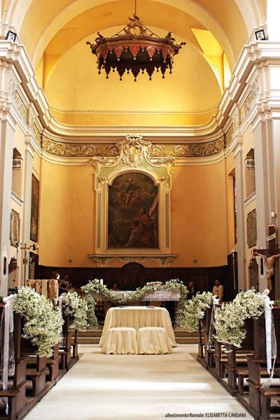 La cappella - Castello di Paderna