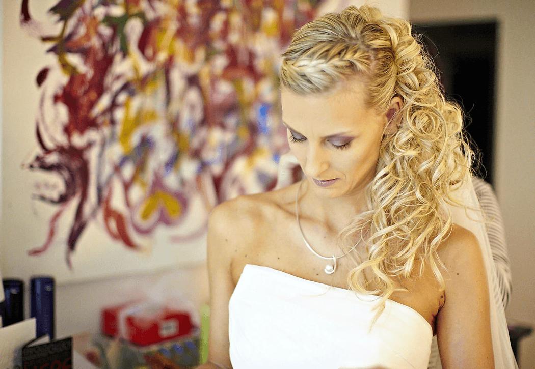 Beispiel: Wunderschöne Braut, Foto: Kloc Make-up.