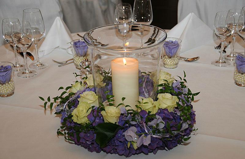 Beispiel: Gestecke aus Blumen, Foto: myflower.